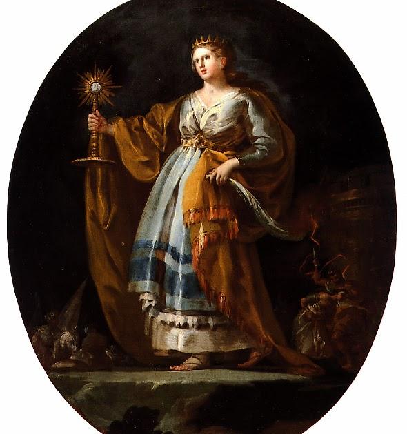 Santa Barbara Francisco de Goya 1775